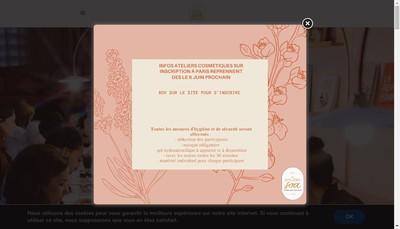 Site internet de Atelier Soa