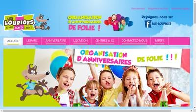 Site internet de Les Loupiots