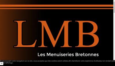 Site internet de Les Menuiseries Bretonnes