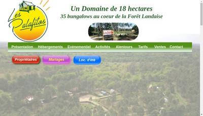 Site internet de SARL les Palafitos