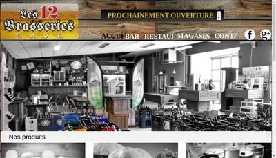 Site internet de Les 12 Brasseries