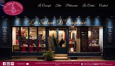 Site internet de Le Salon d'Eugenie