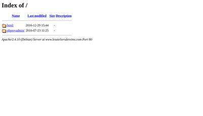 Site internet de Les Ateliers de Reims