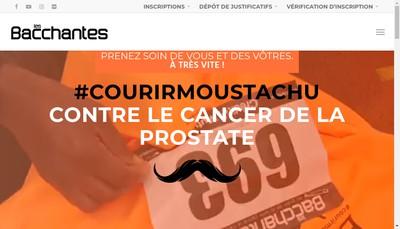 Site internet de Les Bacchantes