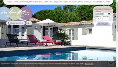 Site internet de Les Bois Flottais