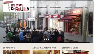Site internet de Les Caves de Reuilly
