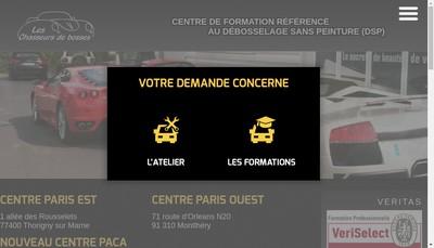 Site internet de Les Chasseurs de Bosses les Chasseurs de Bosses