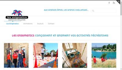 Site internet de Les Enigmatics