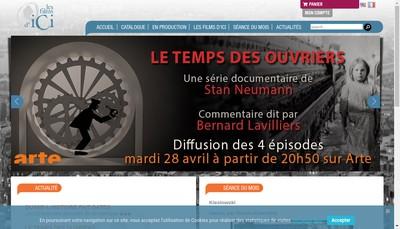 Site internet de Les Films d'Ici 2