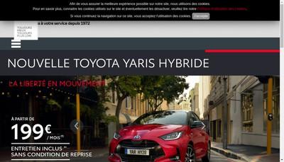 Site internet de Les Garages Chaigneau