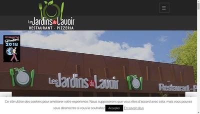 Site internet de Les Jardins du Lavoir