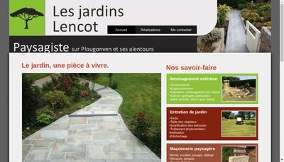 Site internet de Les Jardins Lencot