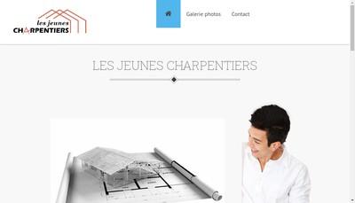 Site internet de Les Jeunes Charpentiers