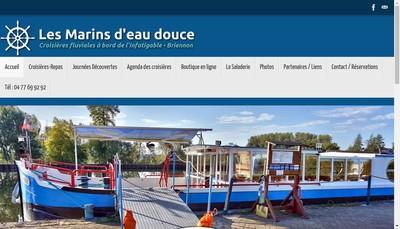 Site internet de Marins d'Eau Douce