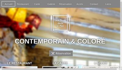 Site internet de Les Pieds Dans le Plat