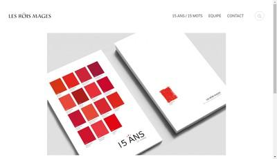 Site internet de Les Rois Mages