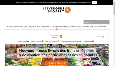 Site internet de Gally le Verger