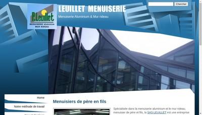 Site internet de Charpente et Menuiserie Leuillet Pere et Fils