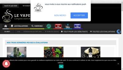 Site internet de Le Vapelier