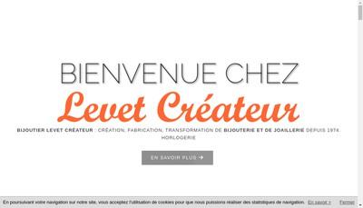 Site internet de Levet Createur