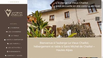 Site internet de Le Vieux Chaillol