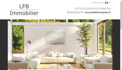 Site internet de Lfb Immobilier