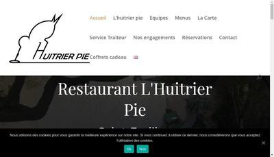 Site internet de L'Huitrier Pie