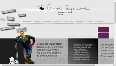 Site internet de Libre Equerre Communication