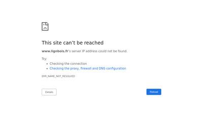 Site internet de Lignbois