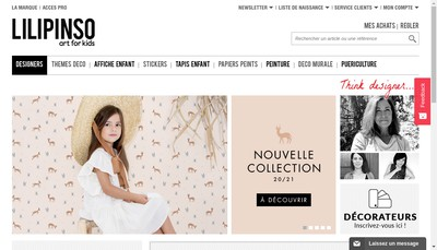 Site internet de Lilipinso