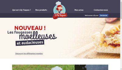 Site internet de Lily Toques