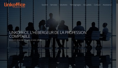 Site internet de Linkoffice