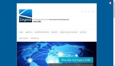 Site internet de Linpico