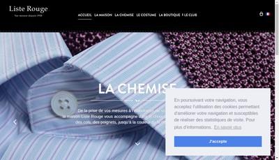 Site internet de Liste Rouge