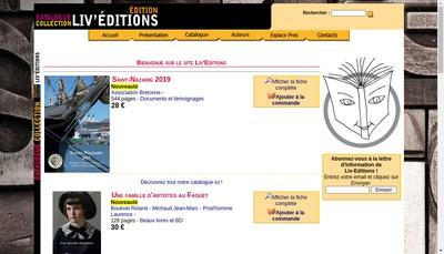Site internet de Carrefour du Livre
