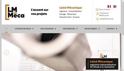 Site internet de Laine Mecanique