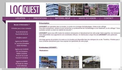 Site internet de Locouest