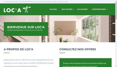 Site internet de Loc'a