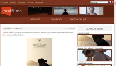 Site internet de Local Films