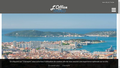 Site internet de L'Office Immo