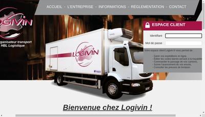 Site internet de Logivin