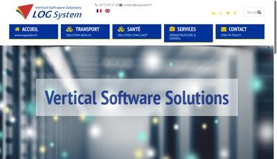 Site internet de Log System