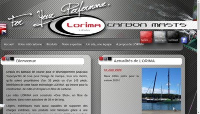 Site internet de Lorima
