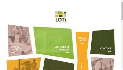Site internet de Loti Concept