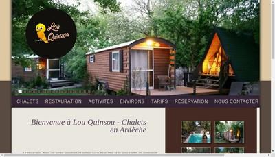 Site internet de Lou-Quinsou