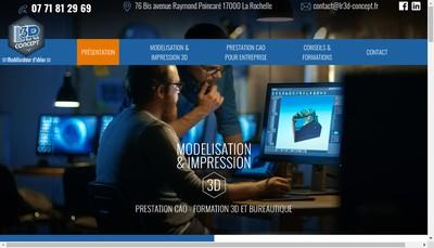 Site internet de Lr3D Concept