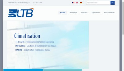 Site internet de Ltb Groupe