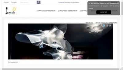 Site internet de Lumecla