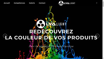 Site internet de Lyalight