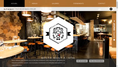 Site internet de Lyon'S Gastro Pub